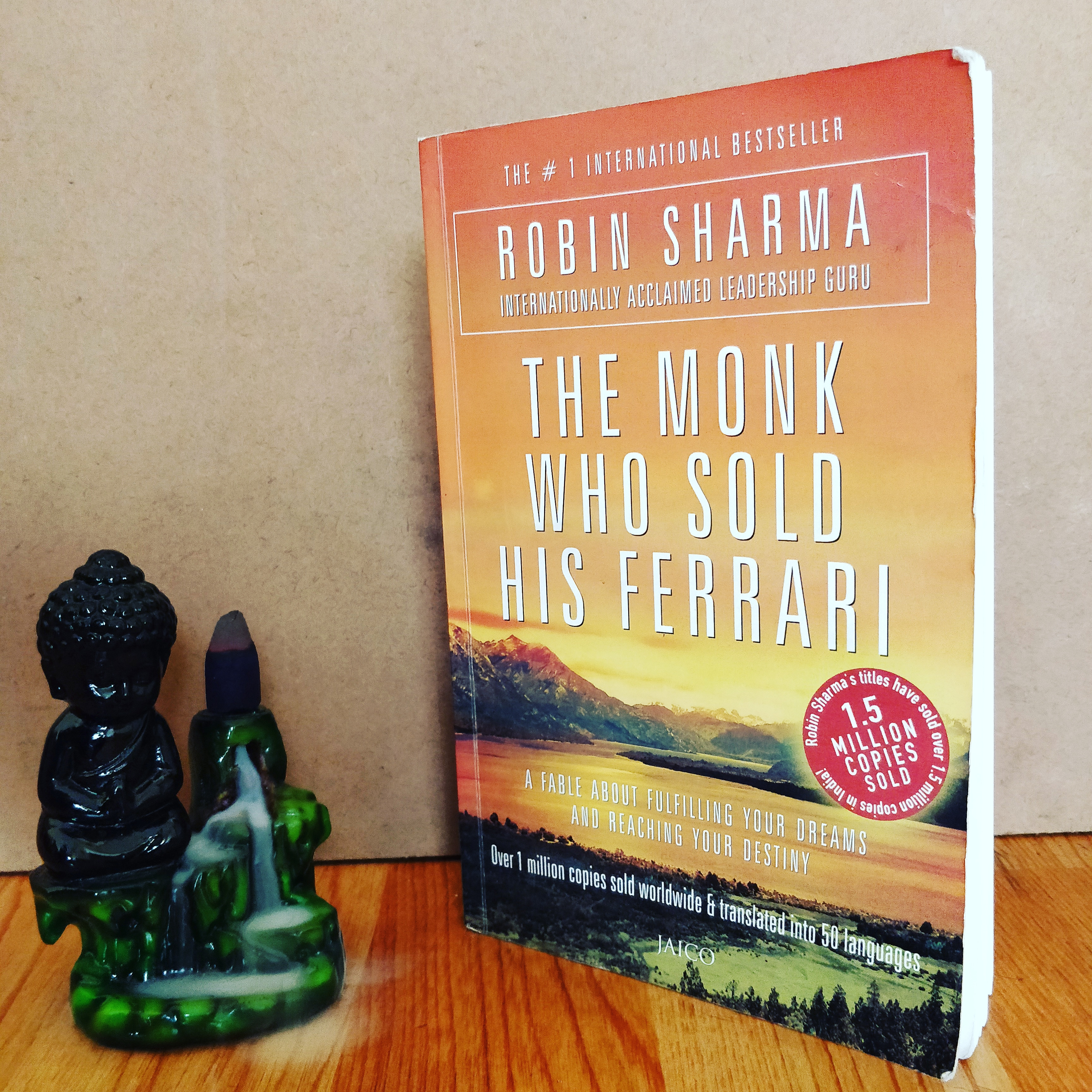 The Monk Who Sold His Ferrari By Robin Sharma The Bombay Bibliophile